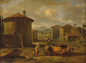 Rome en de temple van Vesta