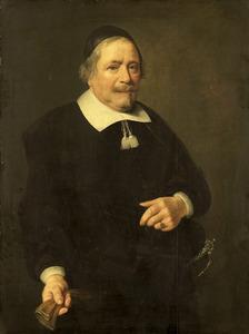 Portret van een man, mogelijk Willem van Velden (....-1663)