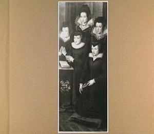 Denise Barjot en haar dochters