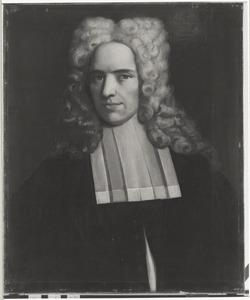 Portret van Jacob Voorda (1698-1768)