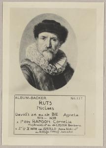 Portret van Nicolaes Ruts (1573-1638)