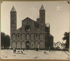 Gezicht op de Mariakerk te Utrecht