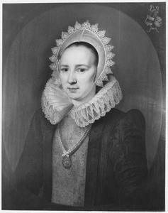 Portret van Margaretha van Santen ( -1648)
