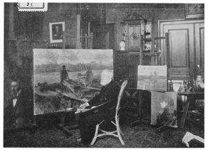 Portret van Jozef Israëls (1824-1911)