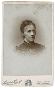 Portret van Catharina Christina Johanna Hermina Roeters van Lennep (1848-1924)