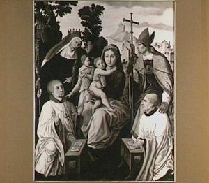 Memorietafel van Petrus van Suchtelen (ca. 1487-1552), kannunik en deken van het St. Walburgskapittel te Zutphen