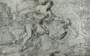 Diana bezoekt Endymion in zijn slaap