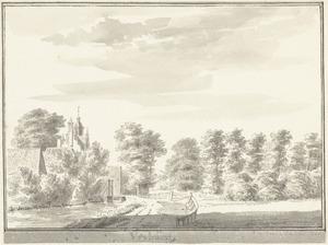 De Broeksloot bij Voorburg met het huis Vrijburg