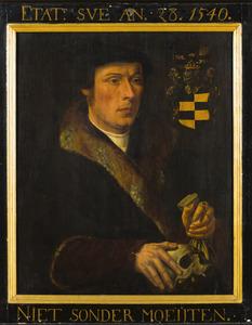 Portret van Sybrand Jacobsz. Bam (1512-1554)