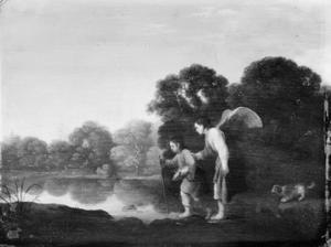 De engel en Tobias met de vis