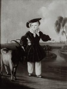 Portret van Simon van Gijn (1836-1922)
