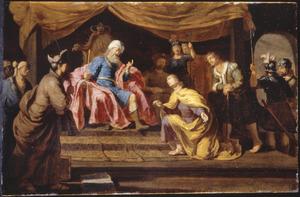 Jozef legt Farao's dromen uit (Genesis 41:14)