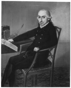 Portret van Hendrik Verwey Mejan (1768-1836)