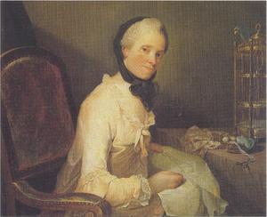 Portret van Karen Klingberg (1733-1806)