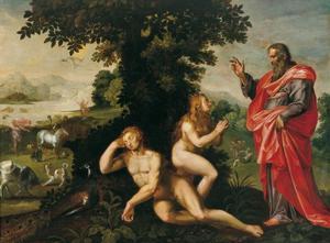 De schepping van Eva (Genesis 2:21-23)