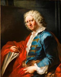Portret van Giovanni Paolo Panini (1691-1765)