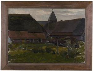 Farm buildings in an Achterhoek village