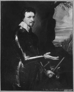 Portret van Thomas Wentworth, 1st Earl of Strafford (1593-1641)