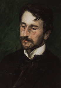 Portret van Carel Steven Adama van Scheltema (1877-1924)
