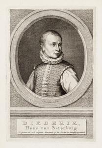 Portret van een man, ten onrechte genaamd Dirk van Bronckhorst en Batenburg ( -1568)