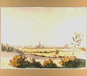 Nijmegen, vóór de afbraak van het Valkhof in 1795
