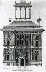 Palazzo Campanella: Plan van de gevel