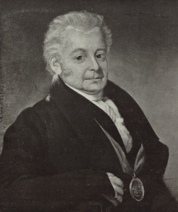 Portret van Pierre Eschauzier (1772-1837)