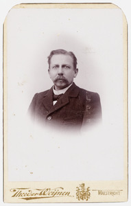 Portret van Frederik Wilhelm Jacob Immink (1822-1893)