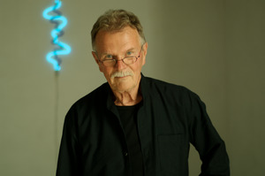 Portret van Jan van Munster in zijn atelier
