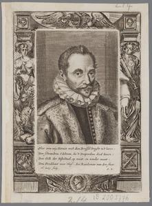 Portret van Philips van Marnix Heer van Sint Aldegonde (1540-1598)