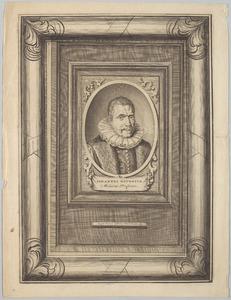 Portret van Johannes Heurnius (1543-1601)