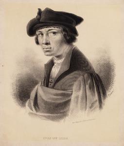 Portret van een man genaamd Lucas van Leyden (1494-1533)