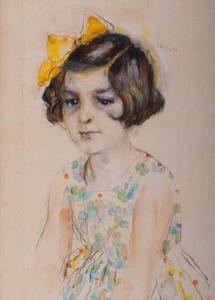 Portret van Metta Leemhuis (1925-2000)
