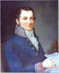 Portret van graaf Jan Feliks Tarnowski (1777-1842)