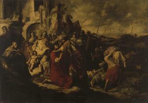 De verzoening tussen Jacob en Esau (Genesis 33:1-20)