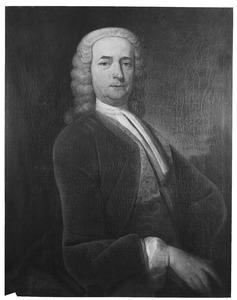 Portret van een man, mogelijk Gijsbert Gualtheri (1683-1762)