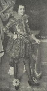 Portret van Frederik III, hertog van Holstein-Gottorf (1597-1659)
