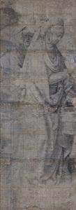 De heilige Martha met gezellen (De vroege cartons, nr. 6)
