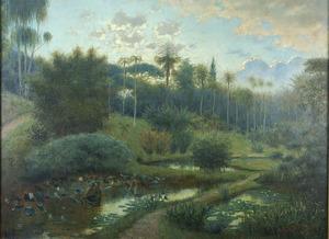 De Botanische Tuin te Buitenzorg