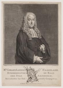 Portret van Gerard Aernout Hasselaer (1698-1766)