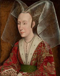 Portret van Isabella van Portugal (1397-1471)