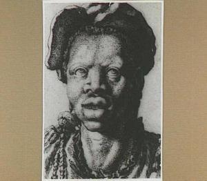 Kop van een zwarte vrouw