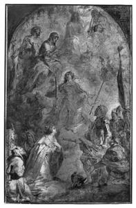 De tenhemelopneming van de H. Catharina van Alexandrië
