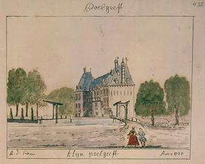 Het huis Klein Poelgeest in Koudekerk aan den Rijn