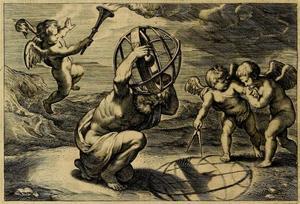 Vignette voor F. Aguilon, Opticorum Libri Sex VI, Antwerpen 1613