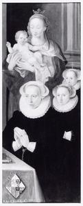 Portret van drie vrouwen