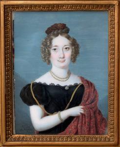 Portret van Louise Cornelia Gertruida de Bye (1802-1877)