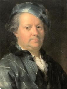 Portret van Christian Georg Schütz I (1718-1791)