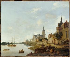 Emmerik aan de Rijn met de St. Martinikerk