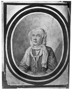 Portret van Catharina Geertruida Schrader (1656-1746)